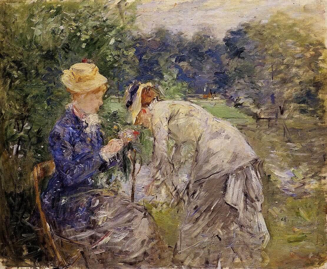 """""""Στο Bois de Boulogne"""" από Berthe Morisot"""