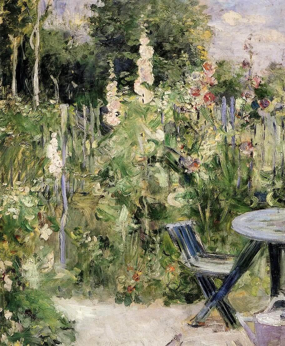 """""""Τριαντάφυλλα Tremiers"""" από Berthe Morisot"""